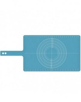 Силиконовый коврик для теста Rollup Silicone Pastry Mat - Blue