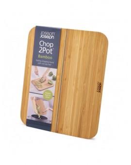 Доска разделочная Chop2Pot бамбук 21 х 26