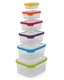 Набор емкостей для продуктов, 6 пр., Nest Storage Set of 6