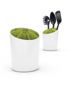 Подставка для кухонных приборов Segment Utensil Pot White/Green