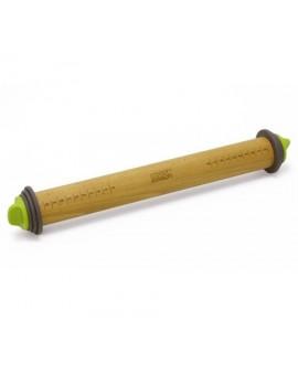 Скалка регулируемая Adjustable Rolling Pin (Grey/Green)