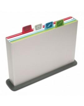 Набор досок разделочных L Index Chopping Board Large - Silver