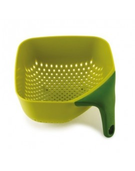 Дуршлаг Square Colander Plus Medium Green Зелёный