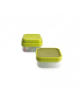 Контейнер для салата GoEat Compact 3-in-1 salad box - Green