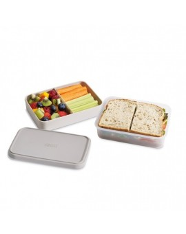 Ланчбокс GoEat Compact 2-in-1 lunch box - Grey