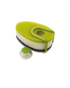 Губка с диспенсером для жидкого мыла Soapy Sponge - Green