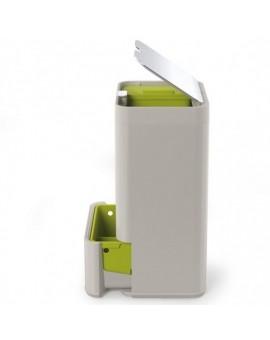 Контейнер для сортировки мусора Intelligent Waste Totem 60L Светло-серый