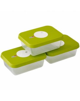 Набор контейнеров пищевых с датой на крышке Dial storage (3 шт) 81041