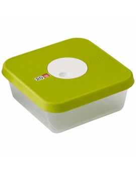 Контейнер пищевой с датой Dial storage container with datable lid Square 81039