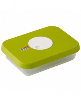 Контейнер пищевой с датой Dial storage container with datable lid Rectangular 81036