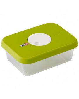 Контейнер пищевой с датой Dial storage container with datable lid Rectangular 81038