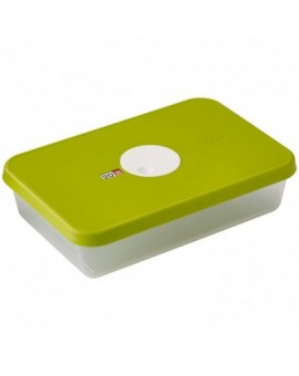 Контейнер пищевой с датой Dial storage container with datable lid Rectangular 81040