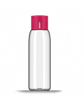 Бутылка для воды с индикатором Dot Hydration-tracking 600 ml - Pink 81051