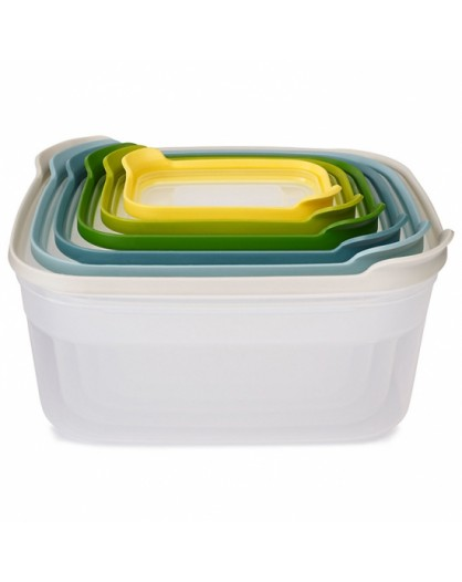 Набор контейнеров пищевых Nest Storage 6pc - Opal