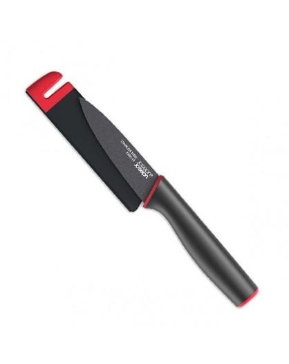 Нож в чехле со встроенной ножеточкой Slice&Sharpen