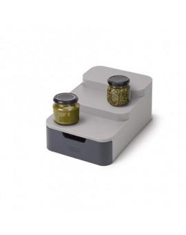 Компактный 3-ярусный органайзер Joseph Joseph 85145 CupboardStore Gray