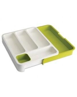Ящик для хранения столовых приборов Drawer store White/Green 85041
