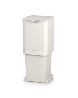 Контейнер для мусора с двумя баками Totem Pop 40 л, белый  30092