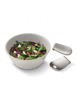 Миска для салата с аксессуарами для перемешивания