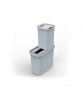 Контейнера для сортировки мусора, набор 2 шт, 46 л.