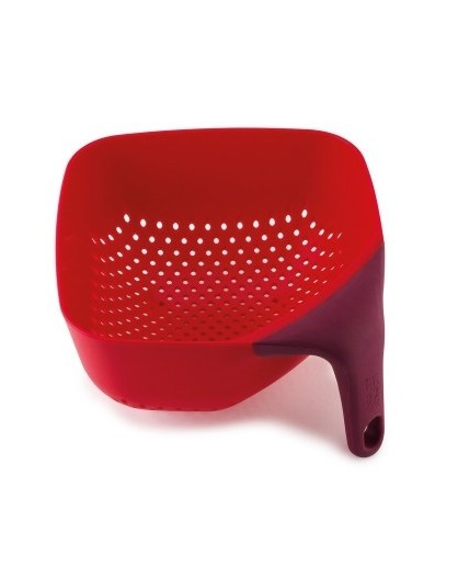 Дуршлаг Square Colander Plus Medium Red Красный 40060