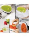Губка с диспенсером для жидкого мыла Soapy Sponge - Green 85072