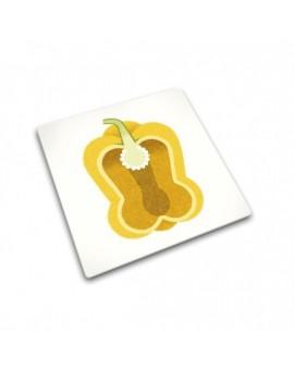 Доска для готовки и защиты рабочей поверхности Joseph Joseph Yellow Pepper 90095