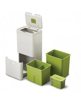 Контейнер для сортировки мусора Intelligent Waste Totem 60L Серый 30002